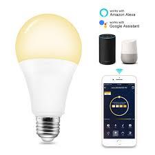 Speaker Light Bulb Alexa Us 13 99 19 Off Led Bulb E27 Smart Wifi Light Bulb Alexa Google Home 7w App Wifi Remote Control Smart Light Wifi Warm White And Rgb Lamp Bedroom In
