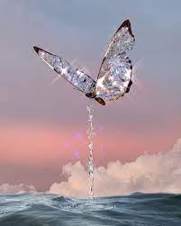 Butterfly Glitter Aesthetic Landscape ...