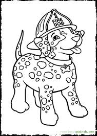 Small Picture Fire Truck Fireman And Dog Printable Coloring Page Coloring Fire