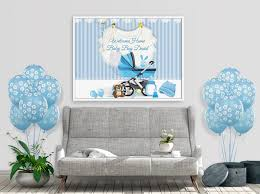 Welcome Home Baby Boy Banner Large Welcome Home Baby Banner Baby Shower Banner Baby Girl Baby Boy