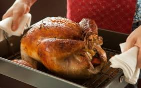 cooked whole turkey. Perfect Whole Golden Roasted Turkey For Cooked Whole A