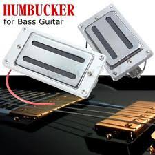 rickenbacker bass pickup mini humbucker bridge neck pickup part chrome set for rickenbacker bass guitar