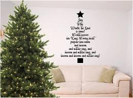 Christmas Wall Art Christmas Bible Verse Wall Art Joy To The World