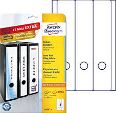 Avery Zweckform L4759 25 90 File Spine Labels A4 Self