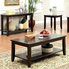3 piece coffee table set furniture of mosaic insert 3 piece 3 piece coffee table set