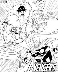 Avengers Kleurplaten Kleurplateneu
