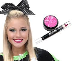 glitter makeup cheer unique hot pink glitter lips add sparkle and shine to every dance costume
