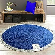 5 foot round braided rug jute braided area rug 5 feet round handmade by skilled artisans 5 foot round braided rug