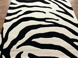 prints modern contemporary hand tufted rug carpet wool zebra print rugs uk