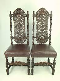 ... Medium Image for Terrific Victorian Gothic Style Furniture Pair Antique Victorian  Gothic Victorian Gothic Revival Furniture