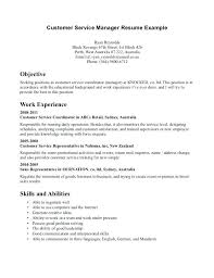 Best Example Resumes Customer Services Resume Sample Photos Inside