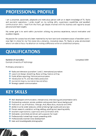 Journalism Resume Format News Reporter Sample 709 Peppapp