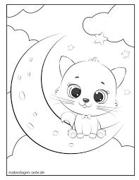 › ausmalbild süsses häschen ausdrucken. Malvorlage Katze Kostenlose Ausmalbilder