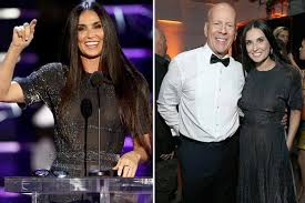 Demi Moore cracks joke about marriage to Bruce Willis as they ...