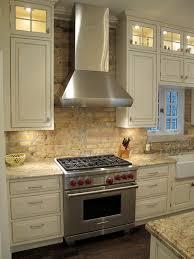 Award Winning Kitchen with brick backsplash | Chicago traditional-kitchen