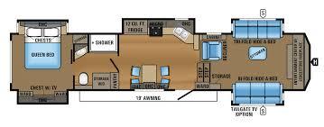 2017 north point 383flfs floorplan