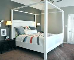 Wooden Canopy Bed Cool Ideas For Canopy Beds Made Of Wood In The ...