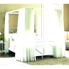 Blue Canopy Bed Curtains Beds With Drapes Romantic Ideas Decorating ...