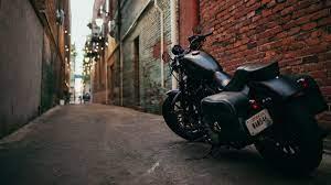 bike, motorcycle, side view, yard 4k 4k ...