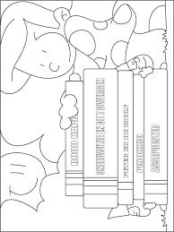 Kleurplaat Sprookjesboeken Kleurplatennl