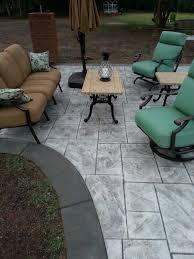 stamped concrete patio. Stamped Concrete Patio O