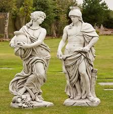 tall garden ornaments garden statues elegant garden statues uk garden buddha statues