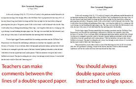 do essays need to be double spaced eng 1001 the proper format for essays ivcc