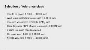 Plug Gauge Tolerance Chart Mod03lec8 Design Of Limit Gauges