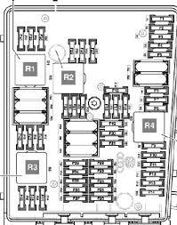 audi a3 8p fuse box diagram audi wiring diagrams