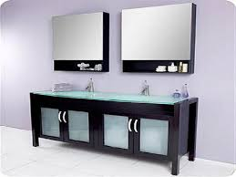 Bathroom double sink cabinets Units Bathroom The Functional Bathroom Sink Cabinets Espresso Modern Double Sink Bathroom Vanity With Glass Top Luxury Living Direct Espresso Modern Double Sink Bathroom Vanity With Glass Top Glass