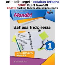 Ajukan pertanyaan tentang tugas sekolahmu. Jual Buku Mandiri Erlangga Bahasa Indonesia Kelas 7 Smp Kunci Jawaban Kab Tangerang Sahabat Buku Anak Tokopedia