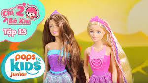 Đồ Chơi Búp Bê Barbie - Công Chúa Tóc Dài - Chị 2 Bé Xíu Tập 13 - YouTube