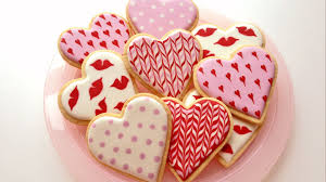 San Valentin Decoration How To Decorate Cookies For Valentines Day Youtube