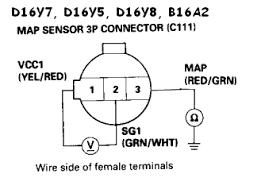 92 00 honda acura engine wiring, sensor & connector guide honda bosch map sensor wiring at Map Sensor Wiring Diagram
