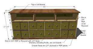 Diy mdf furniture Homemade Global Sources Ana White Apothecary Console Diy Projects