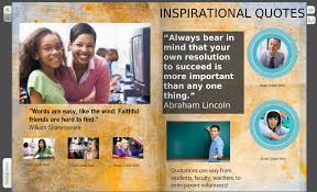 student interviews yearbook quotes on your custom pages click to enlarge image
