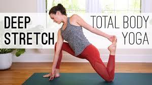 Total Body <b>Yoga</b> - Deep Stretch | <b>Yoga</b> With Adriene