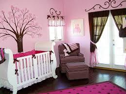 eye catching ladybug crib bedding with dark wood floor and pink rug