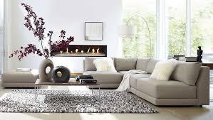 charming modern living room sets wall fireplace blackwhite fur rug light grey sofa