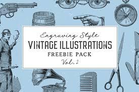 Vintage Illustrations Free Vintage Illustrations Vol 2 Graphic Goods