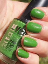 Nyc Nail Polish Color Chart Notd Nyc In A Minute In High Line Green Bewitchery
