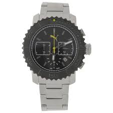 watches at sportsdirect com puma gallant metal watch mens