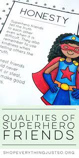 Characteristics Of A Superhero Characteristics Of A Good Friend Essay What Makes A Good Friend