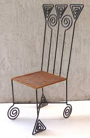 woven metal furniture. Offered For Sale Is A One Of Kind Pair Sculptural High Back Casual Wrought Woven Metal Furniture