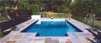 In Ground Swimming Pool Designs Rectangle Inground Swimming Pool