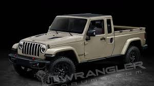 2018 jeep scrambler. fine 2018 here are your jeep wrangler pickup renderings photo 2 throughout 2018 jeep scrambler e