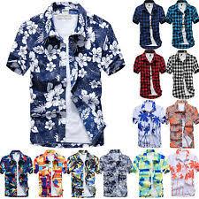 <b>Floral Hawaiian</b> Casual <b>Shirts</b> & <b>Tops</b> for <b>Men</b> for sale | eBay