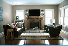 room layout ideas living design with corner fireplace and tv small