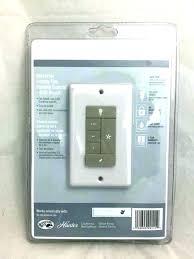 hunter ceiling fan control universal remote wall mount plus handheld unit contr