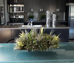 artificial-floral-arrangements-Kitchen -Contemporary-with-artificial-plants-and-trees